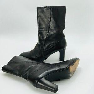 COLE HAAN MID-CALF BOOTIES